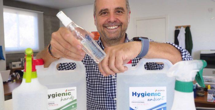 Biomca, hidroalcohol 100% canario