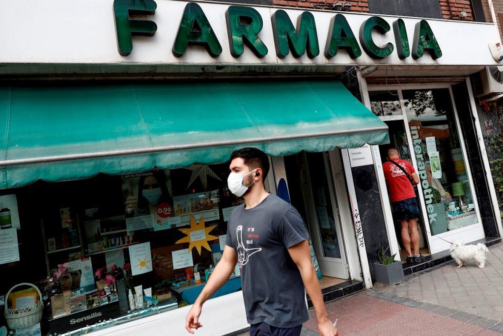MASCARILLAS CALLE MADRID