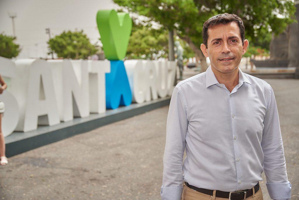 Juan José Martínez es el concejal de Hacienda de Santa Cruz. / Tony Cuadrado