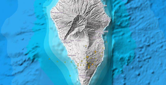 Registrados otros 12 sismos de baja intensidad en hasta cinco municipios de la Isla