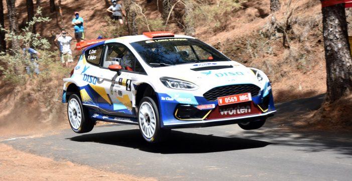 El Rally Norte mide a los mejores pilotos del 'mundialito' canario