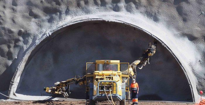 Se inicia la perforación del túnel de Erjos, que unirá el Norte y el Sur