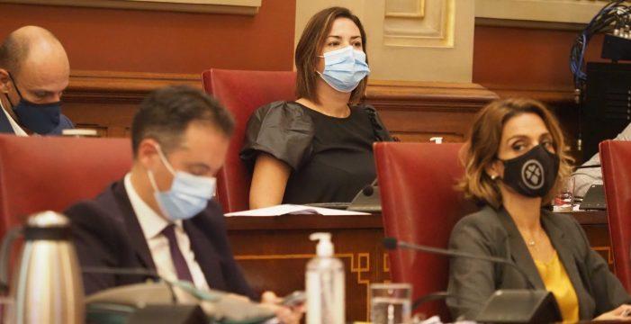 """Evelyn Alonso: """"No hay ningún escenario en el que vaya a dimitir"""""""