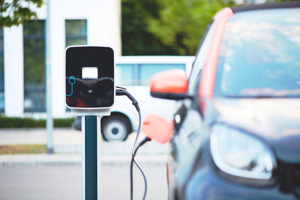 Vehículo coche eléctrico