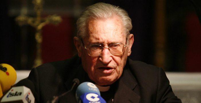 Fallece don Damián Iguacen, obispo emérito de Tenerife