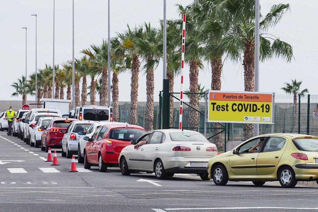 PCR - Punto de recogida de muestras en la Dársena Pesquera de Santa Cruz de Tenerife