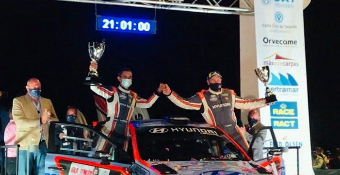 Triunfo de Yeray Lemes en el Rally Isla de Tenerife y título de Canarias para Enrique Cruz y Yeray Mújica