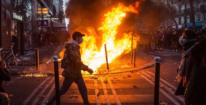 Fuertes disturbios en Francia contra la nueva ley de seguridad