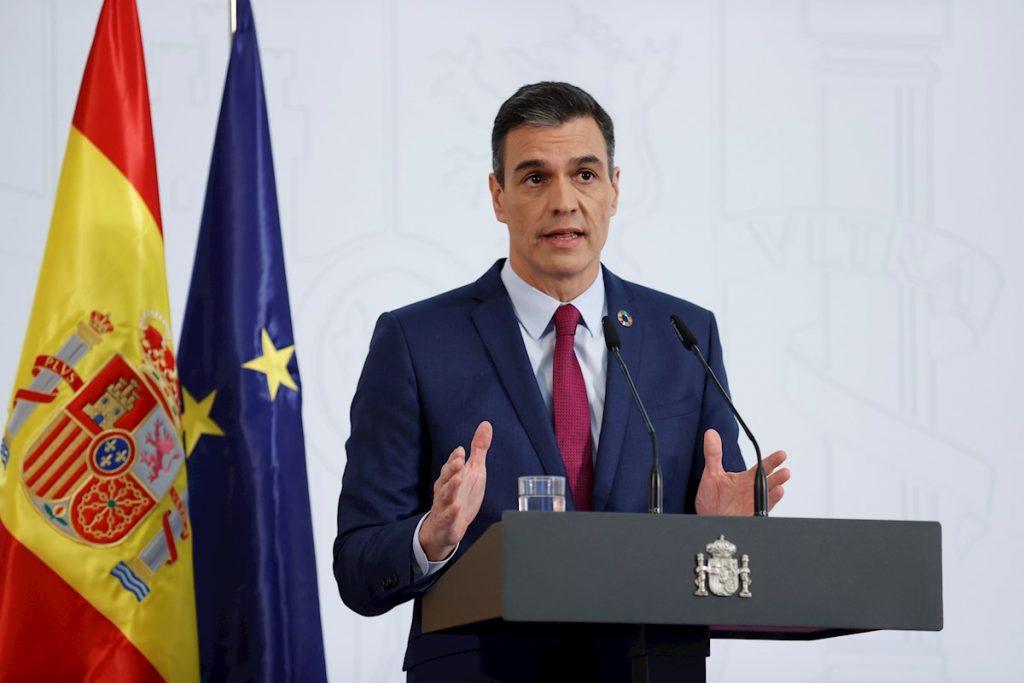 El presidente del Gobierno de España, Pedro Sánchez. EFE