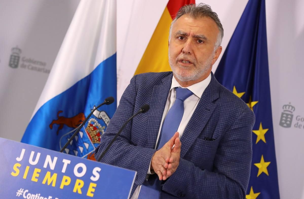 El presidente de Canarias, Ángel Víctor Torres. EP