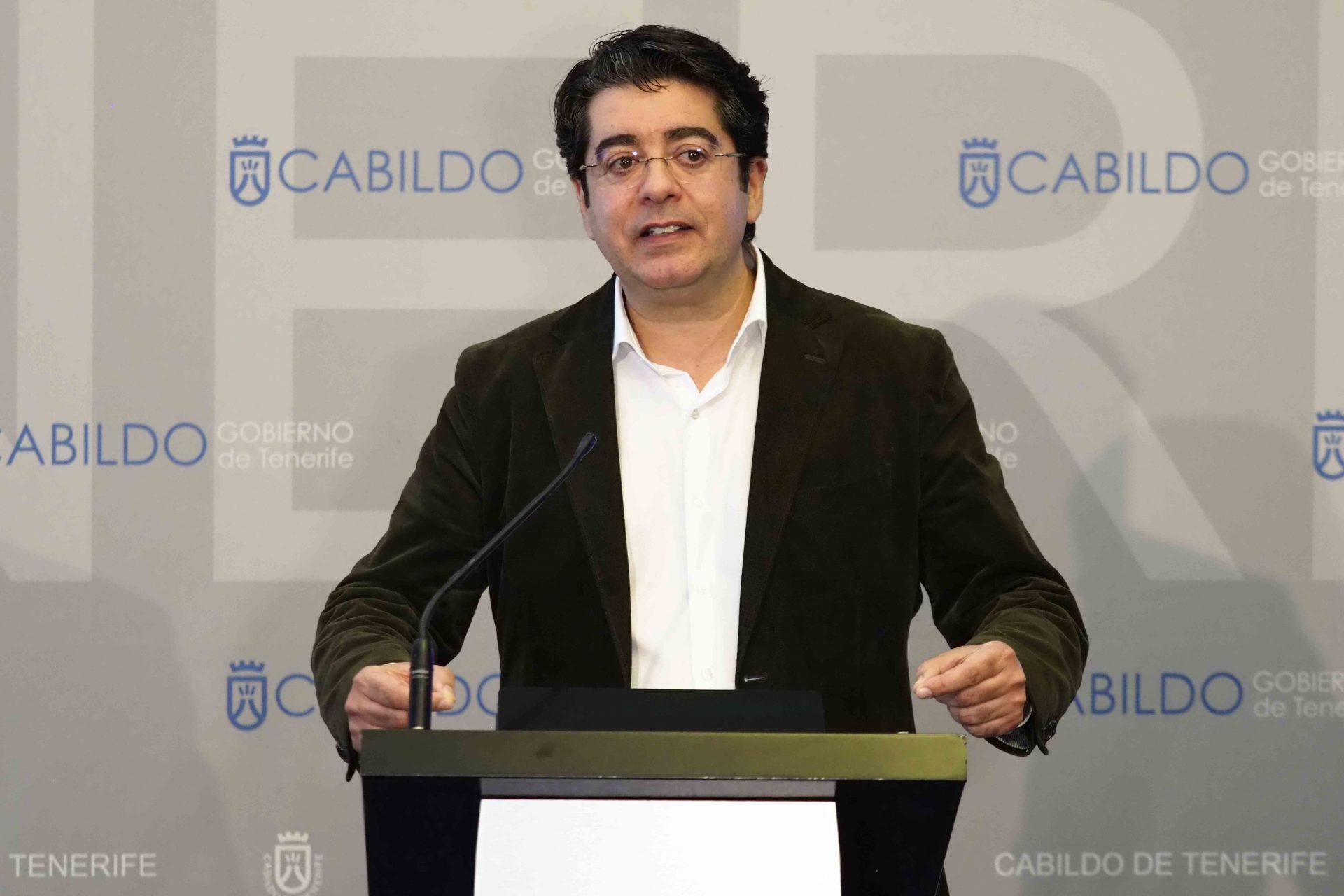 """Martín habla de una """"estrategia"""" de CC y PP para desgastar al Gobierno insular, (foto de archivo). SERGIO MÉNDEZ"""