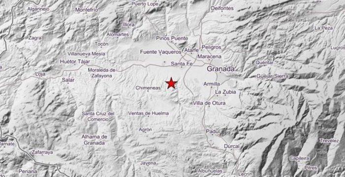 Dos nuevos terremotos sacuden el centro de Granada