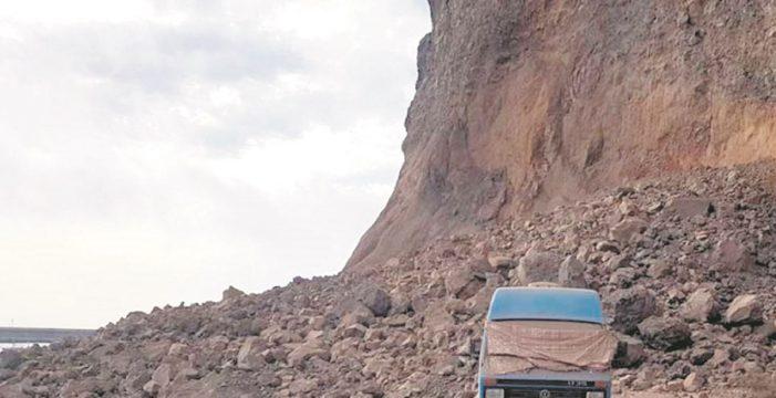 Alertan del grave riesgo de deslizamientos de tierra en las Islas