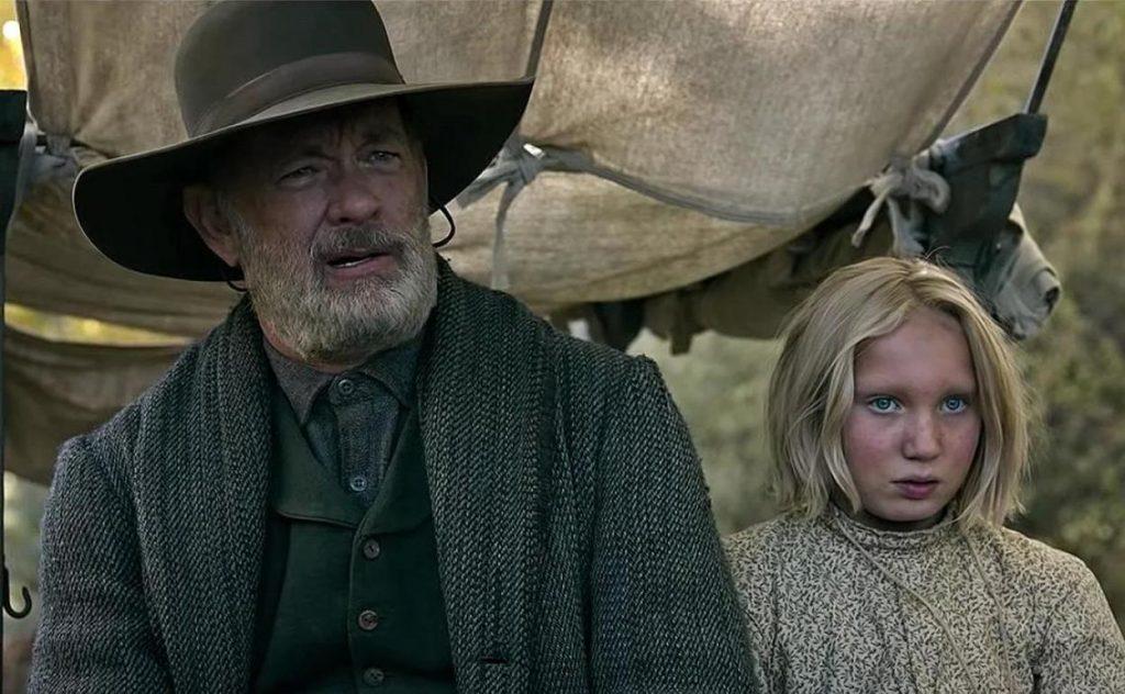 Protagonizada por Tom Hanks, 'Noticias del gran mundo' sucede cinco años después de la Guerra Civil estadounidense.