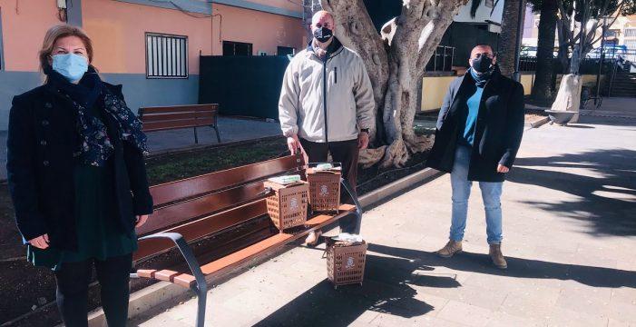 Granadilla, primer municipio en estrenar los contenedores para residuos orgánicos
