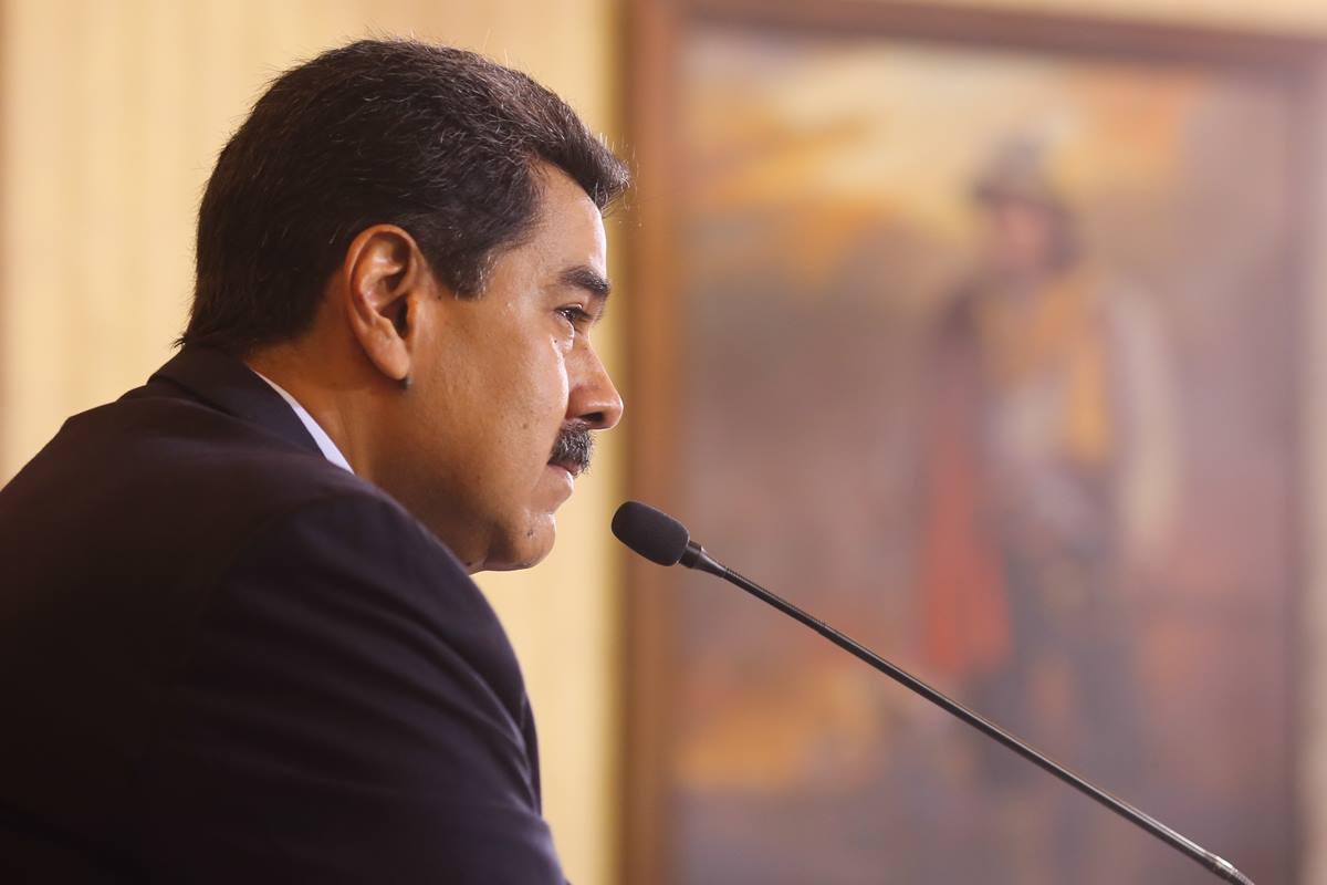 El presidente de Venezuela, Nicolás Maduro. EP