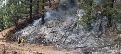 Cajamar comienza a tramitar la financiación para los afectados en La Palma por el incendio y las condiciones meteorológicas adversas