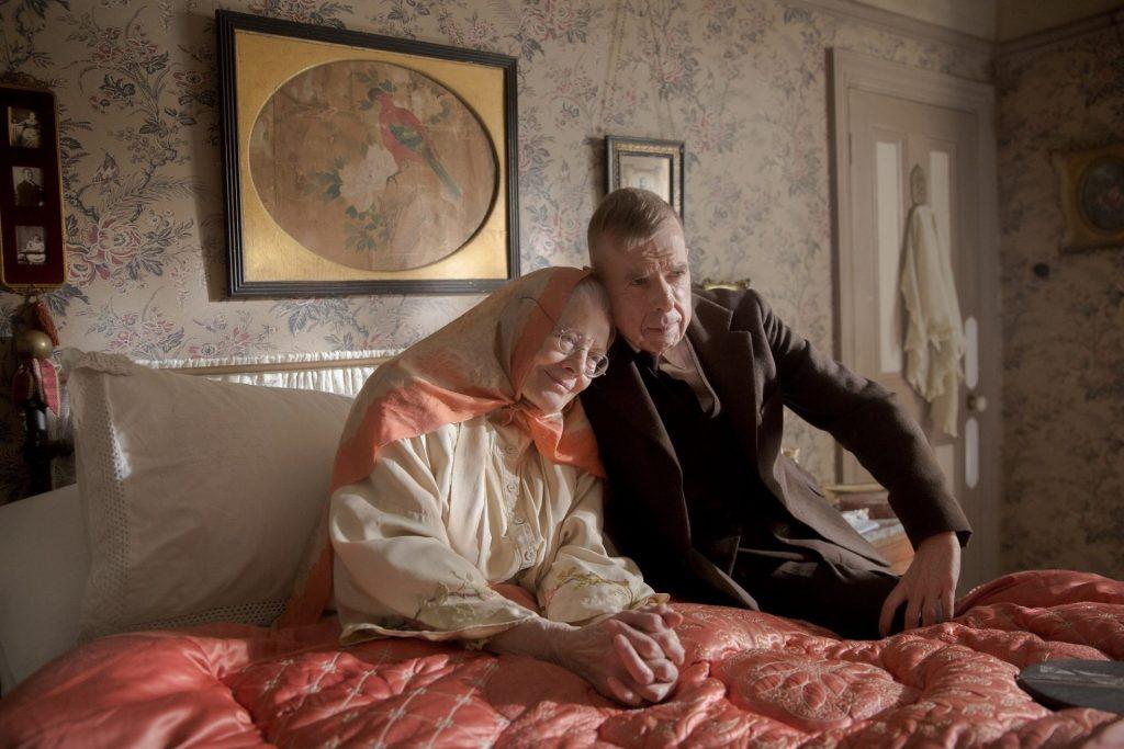 Vanessa Redgrave y Timothy Spall protagonizan 'La Sra. Lowry e hijo'.