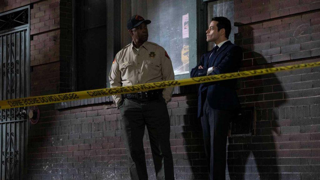 Denzel Washington y Rami Malek van tras un asesino en serie en 'Pequeños detalles'.