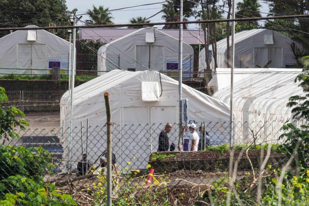 Siete heridos en una nueva pelea en el campamento de Las Raíces