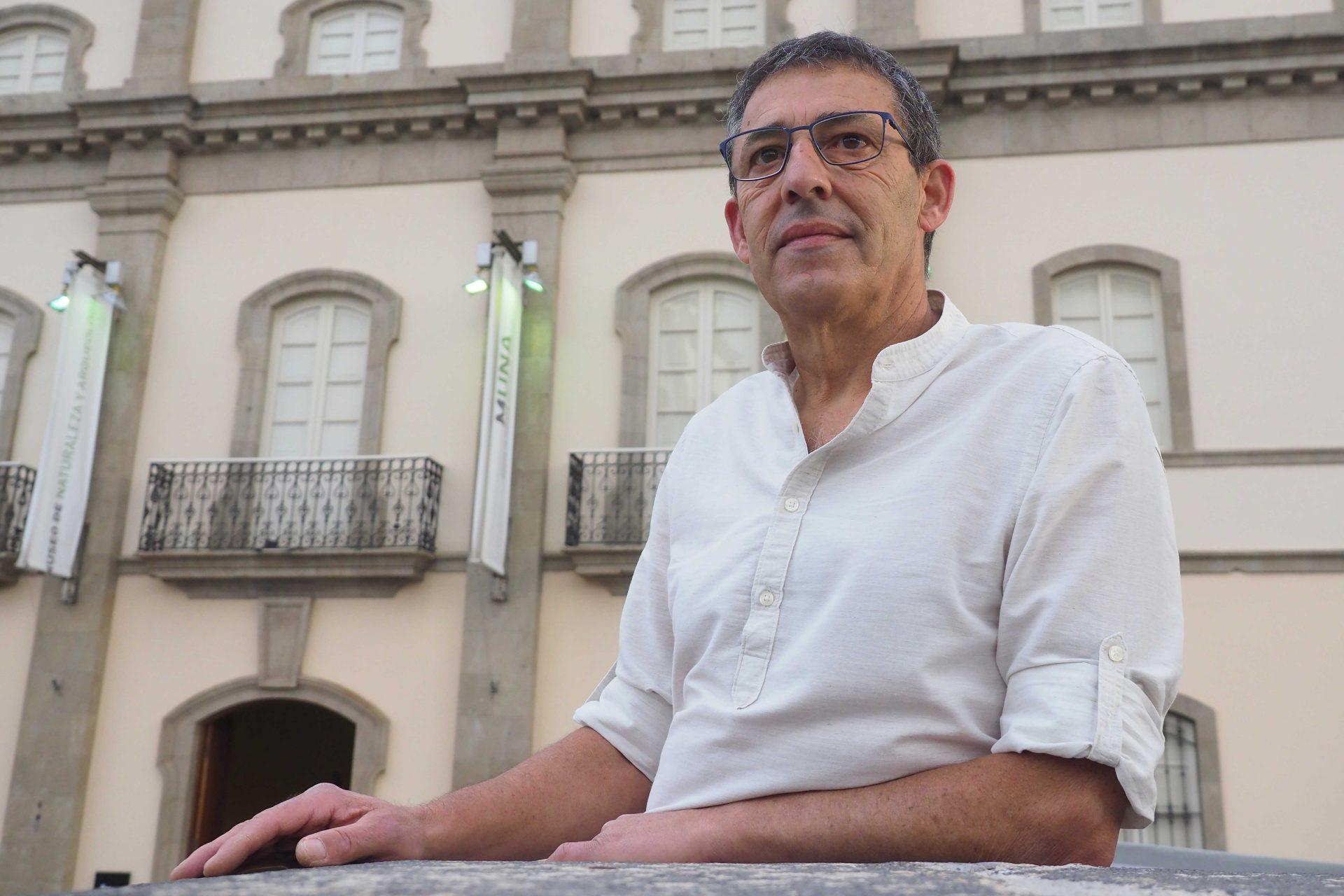 El naturalista realejero Pedro Felipe Acosta. SERGIO MÉNDEZ