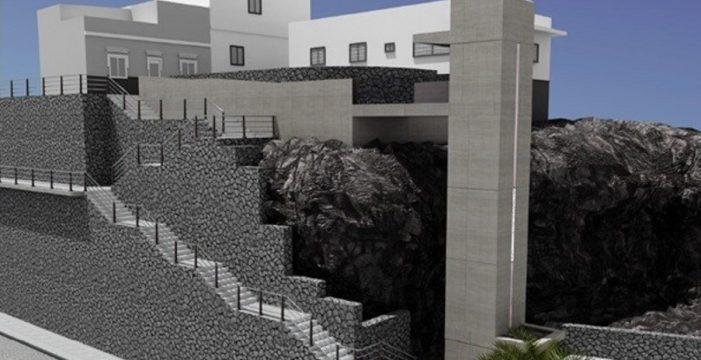 Candelaria invertirá 300.000 euros en un ascensor a Santa Ana