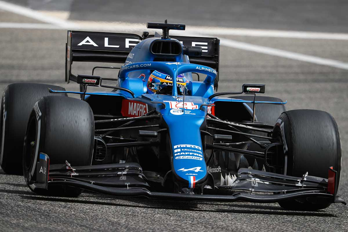 Fernando Alonso (Alpine F1)