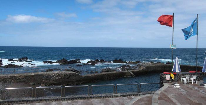 Cierre temporal al baño de la playa de San Telmo