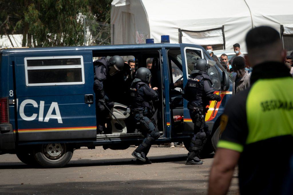Disturbios en Las Raíces. Fran Pallero