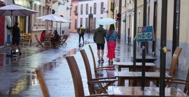 La lluvia ácida podría llegar a las islas más montañosas esta tarde
