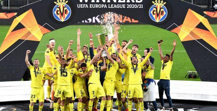 Histórico triunfo del Villarreal en la final de la Europa League