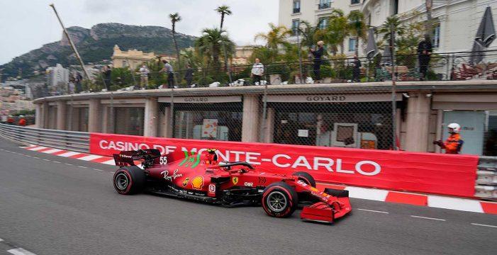 Carlos Sainz firma en Mónaco su primer podio con Ferrari