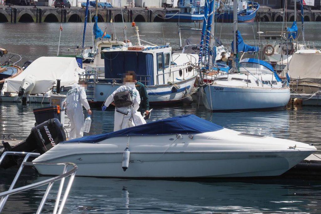 Los investigadores hallaron restos de sangre de Tomás Antonio Gimeno en la embarcación en la que desapareció junto a sus dos hijas, Anna y Olivia, de uno y seis años, hace hoy 14 días. Sergio Méndez