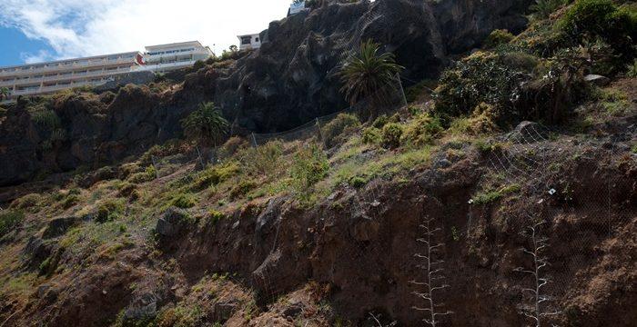 El Puerto de la Cruz estudia las acciones futuras en la Ladera de Martiánez