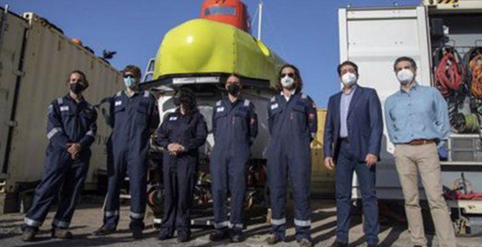 Pedro Martín propone usar el submarino 'Piscis VI' para la búsqueda de Anna y Tomás Gimeno