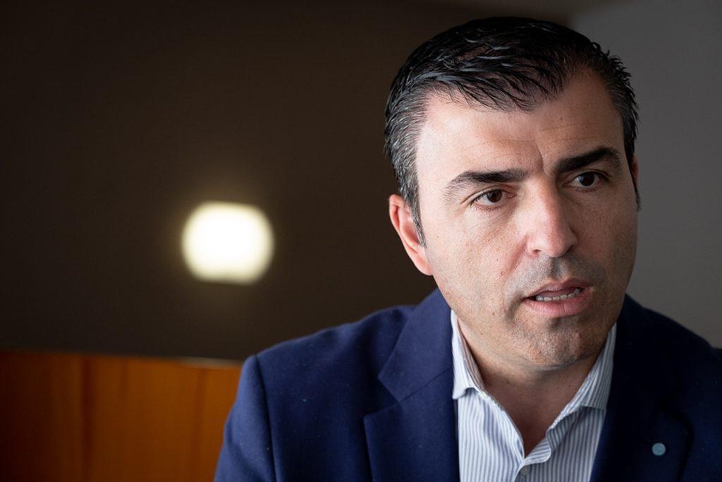 Manuel Domínguez, alcalde de Los Realejos. FRAN PALLERO