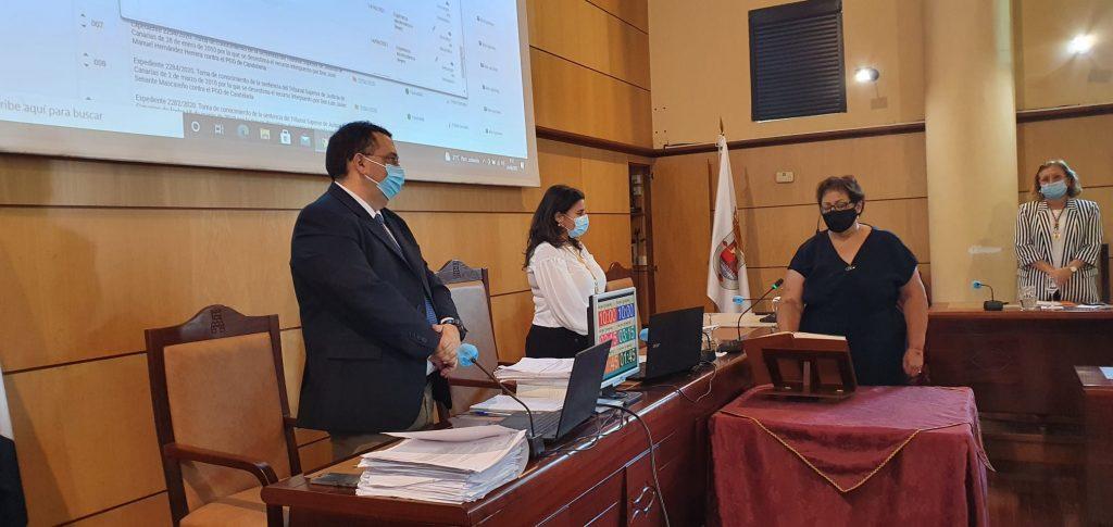 Alicia Mercedes Marrero Meneses, nueva edil de VxC. DA