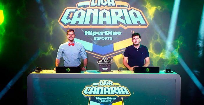 Éxito de la tercera edición de la 'Liga Canaria de Esports HiperDino' con 17.400 jugadores activos