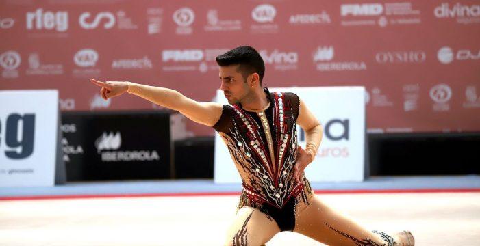 El gimnasta tinerfeño Cristofer Benítez, víctima del ataque sexista de una medallista rusa