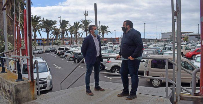 El parking desmontable de Santa Cruz de La Palma contará con 560 plazas