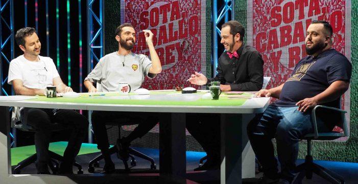 El actor y humorista Víctor Hubara visita esta noche 'Sota, Caballo y Rey'