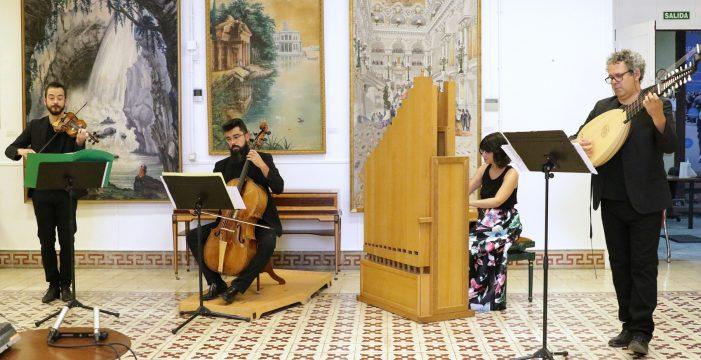 El Afecto Ilustrado interpreta hoy en la Real Academia Canaria de Bellas Artes obras de José Palomino