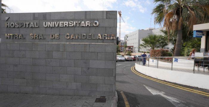 Salida de vía en Arafo: un joven fue trasladado al hospital de La Candelaria