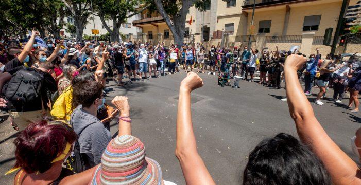"""Una caravana por la """"libertad migratoria"""""""