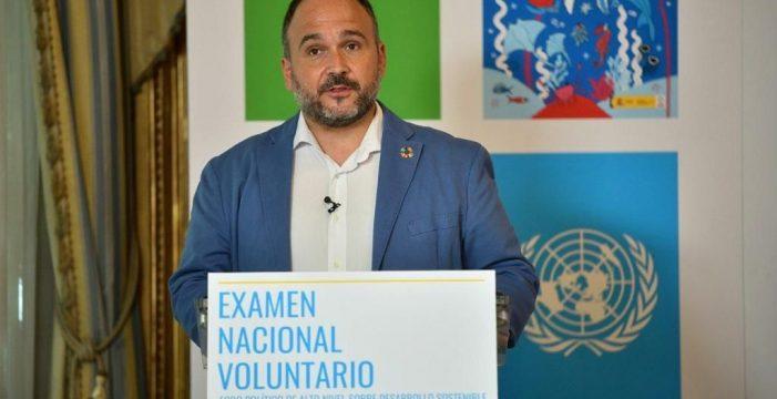 """Una Agenda de Desarrollo Sostenible como """"eje de acción"""" del Gobierno"""