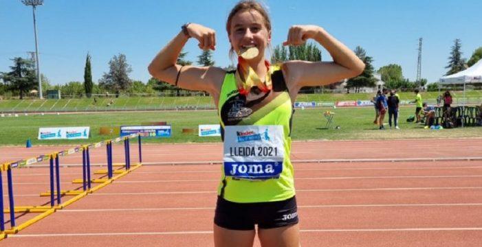 Andrea Monroy logró la medalla de oro e Isabel Werknesh la de plata en el Campeonato de España Sub16