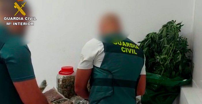 Detenido en Fuerteventura por cultivar marihuana en el cuarto de aperos de una azotea