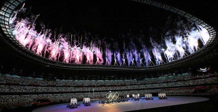 Emoción, tradición, tecnología y drones alumbran los Juegos Olímpicos de Tokio