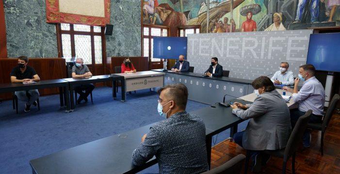 Acuerdo del Cabildo y los ayuntamientos del Valle de Güímar en la reorganización de las guaguas