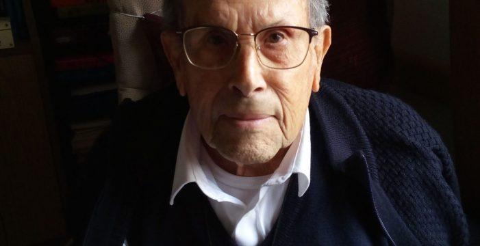 Granadilla de Abona llora la muerte, a los 91 años, de José Ventura, 'Pepe, el cura'